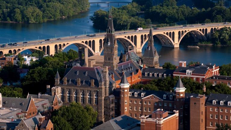 Aerial Campus Bridge
